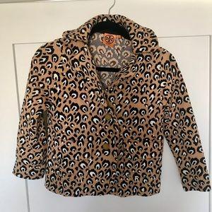 Tory Burch leopard blazer!